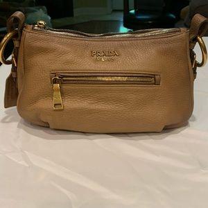 Only Used Twice!! Prada Cervo Antik Shoulder Bag!